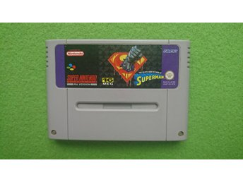 The Death and Return of Superman Super Nintendo Snes