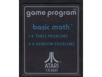 Atari 2600 - Basic Math (CX2661) (Beg)