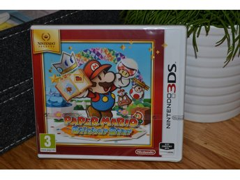 Paper Mario: Sticker Star 3DS Nintendo (Selects) Ny