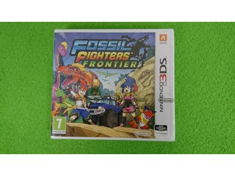 Fossil Fighters Frontier NYTT INPLASTAT Nintendo 3DS