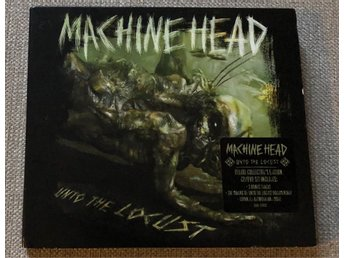Machine head Unto the Locust ltd cd/dvd bonuslåtar NYSKICK