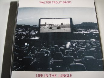 WALTER TROUT BAND Life in the jungle CD BLUES TOPPSKICK!!!