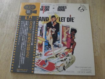 JAMES BOND - LIVE AND LET DIE (Japanpress) Gatefold  TOPPEX