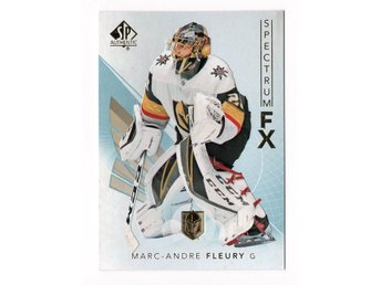 17-18 SP Authentic Spectrum FX Veterans Bounty Marc-Andre Fleury