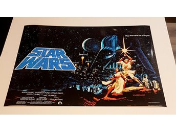 STAR WARS 1977 PHOTO POSTER