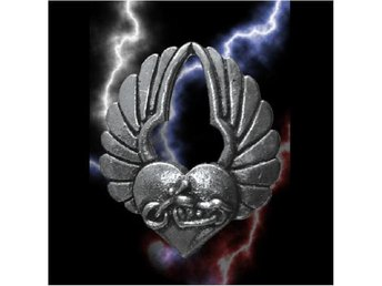 Guardian Pin Winged Heart.