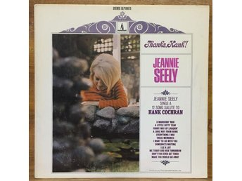 Jeannie Seely / Thanks, Hank! (Hank Cochran) - rare!