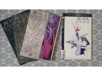 BLACK ORCHID Neil Gaiman Dave McKean Miniserie #1-3 (1988)+ 1 One-off MINT!!