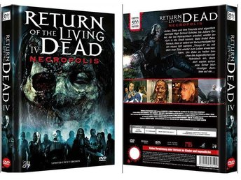 RETURN OF THE LIVING DEAD 4 (Lmtd Mediabook 500 ex Ultra-Rare) DVD Blu-ray (2005