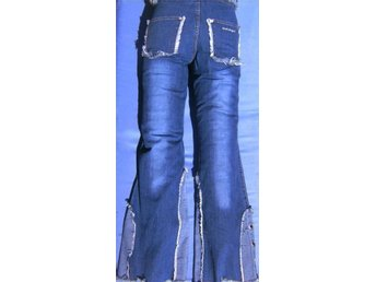 QUALITY 'LABEL DRAGONS'  st 36 DENIM BLUE JEANS