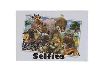 Magnet - djur från Afrika som tar en selfie - Tumba - Magnet - djur från Afrika som tar en selfie - Tumba