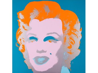 Andy Warhol Marilyn Monroe screenprint Sundby B Morning print tavla tryck