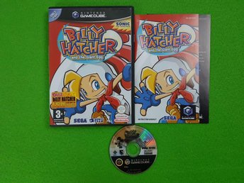Billy Hatcher and the Giant Egg ENGELSK UTGÅVA KOMPLETT GameCube Game Cube