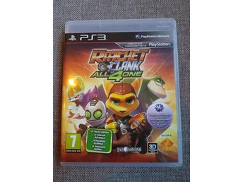 Ratchet & Clank All 4 one [Svenska] PS3