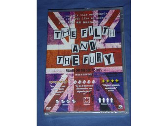 Sex Pistols: The Filth and the Fury, helt ny oöppnad och inplastad DVD