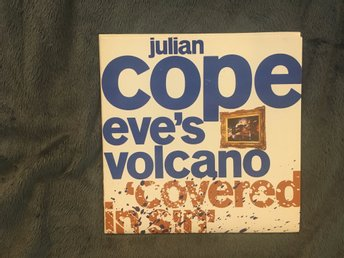 "Julian Cope Eve's Volcano 7"" (Ex Teardrops explodes) Brittisk Indie från 80 tale"