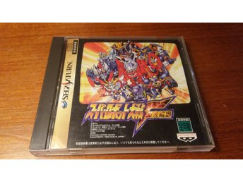 Super Robot Wars F Final - Komplett + Spine Card - Japanskt - Sega Saturn