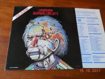 URBANIAX - Burning Circuits, LP Sonet 1984 UK Michal Urbaniak
