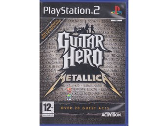 Guitar Hero - Metallica, PlayStation 2