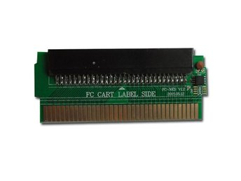 Famicom 60 Pins till NES 72 Pins adapter PCBA med CIC chip
