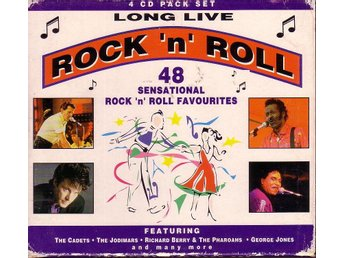 Long Live Rock'n'Roll / 4 x CD's i box