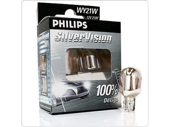 Philips SilverVision  WY21W 2 st . Nya