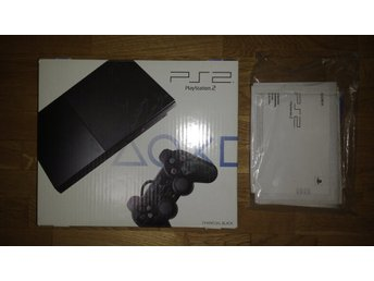 Svensksålt PlayStation 2 PS2 Super Slim i originalkartong
