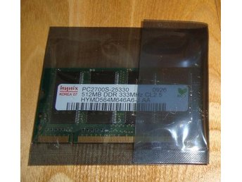512Mb PC2700 DDR333 minne till Laptop HYNIX