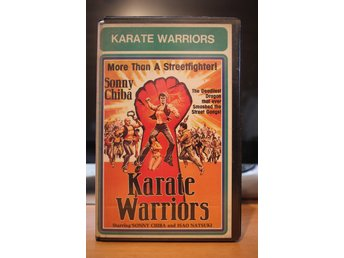 Karate Warriors - EX Rental, Sweden, Videorama, VHS