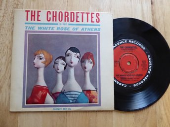 CHORDETTES - The white rose of Athens Cadence Sverige EP
