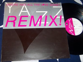 "YAZZ - WHERE HAS ALL THE LOVE GONE ? 12"" 1989 U.S REMIX EXT."