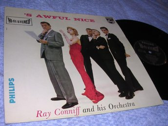 Ray Conniff - 's Awful Nice (LP) Hol 58 Easy Jazz VG+/EX