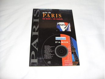 Rese Guide Paris CD ROM + CD Audio till PC & Mac datorer