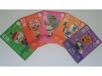 Animal Crossing Amiibo Cards series 4 Nr 311 - 315