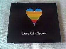 "Eurovision 1995 UK Love City Groove ""Love City Groove"" CD-single"