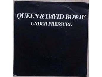 "Queen & David Bowie title* Under Pressure* Pop Rock 7"" US"