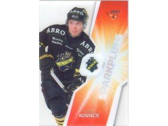 2015-2016 HockeyAllsvenskan Sparkplugs #SP01, Robin Kovacs, AIK - Linghem - 2015-2016 HockeyAllsvenskan Sparkplugs #SP01, Robin Kovacs, AIK - Linghem