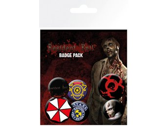 Pin Badge Pack - Resident Evil Mix