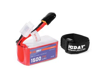 OCDAY Power 11.1V/14.8V 1500mAh 4S 75C LiPo Batterie Racing Drone Drönare