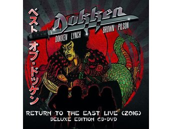 Dokken: Return to the east - Live 2016 (Deluxe) (CD + DVD)