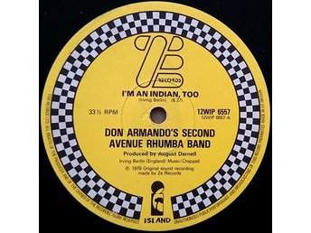 "Don Armado´s second av. Rhumba Band – Deputy of love/I´m an indian too (ZE 12"")"
