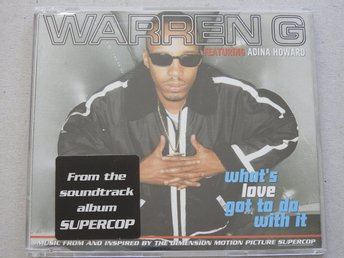 Warren G featuring Adina Howard - What's Love got to do with it CD Singel
