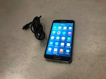 Samsung Galaxy S5 Mini LTE SM-G800F 16GB + 4G +8MP kamera +USB Laddare OLÅST