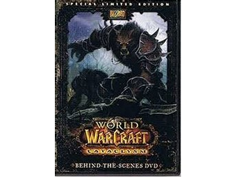 World of Warcraft Cataclysm Behind the Scenes DVD Special Limited Edition