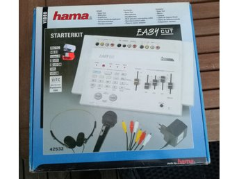Videoredigeringsutrustning HAMA Easy Cut