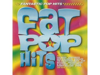 40 Fat Pop Hits 2 CD-skivor