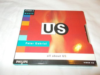 Peter Gabriel All About US - Video CD CD-I CDI VCD MPEG movie