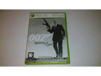 - 007 Quantum of Solace XBOX360 - - Arvidsjaur - - 007 Quantum of Solace XBOX360 - - Arvidsjaur