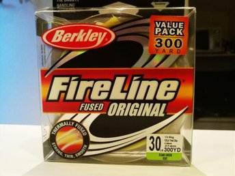 FireLine Fused Original 30lb/13.6kg, 275m, flame green
