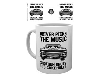 Supernatural - Driver picks the music - Mugg
